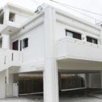 沖縄市S邸 新築工事 1階駐車場