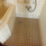 アパート浴室タイル張替工事