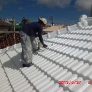 屋根瓦防水塗装工事