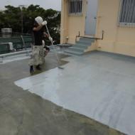 屋上防水塗装工事