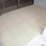 玄関ポーチ・階段タイル張替え工事