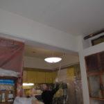 室内天井塗装工事