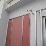 アパート用玄関アルミドア取替え工事