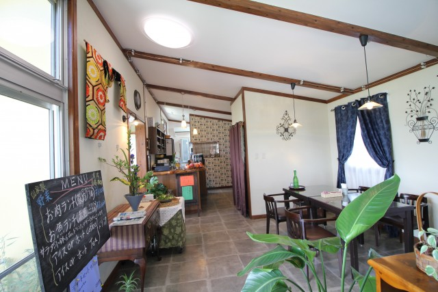 沖縄 リフォーム カフェ改築