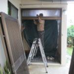 玄関引戸 取り替え工事 リフォームドア