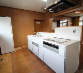 システムキッチン取り替え工事 対面キッチンへ