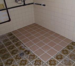 浴室 タイル改修工事