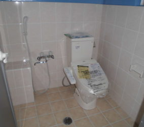 店舗 トイレ改修工事