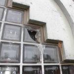 ガラスブロック取替え工事