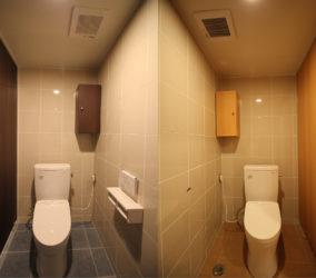 商業ビルのトイレ改修工事