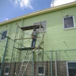 サッシ窓設置工事