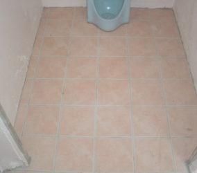 離れのトイレ・シャワー室 改修工事