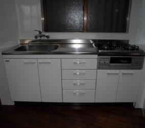 キッチン取替え工事