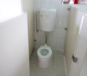 幼児園 トイレ改修 防水工事