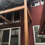 木造住宅 柱・梁 取替え工事