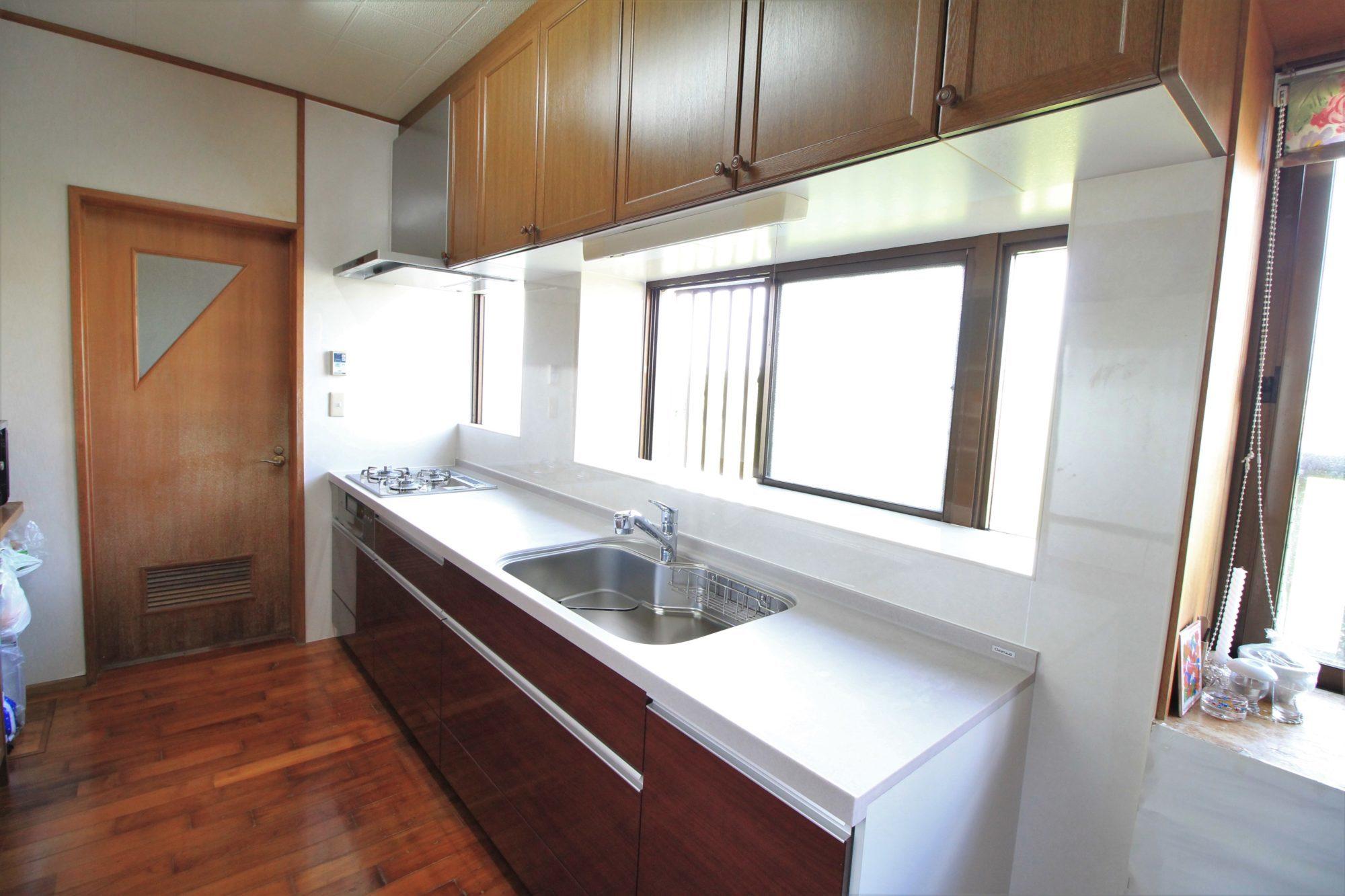 沖縄 リフォーム リノベーション キッチンの取替えリフォーム