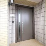 マンション玄関ドア取替えリフォーム(カバー工法)