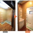 二世帯住宅 水まわり新設リノベーション
