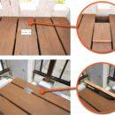 ウッドデッキとテラス屋根のリフォーム