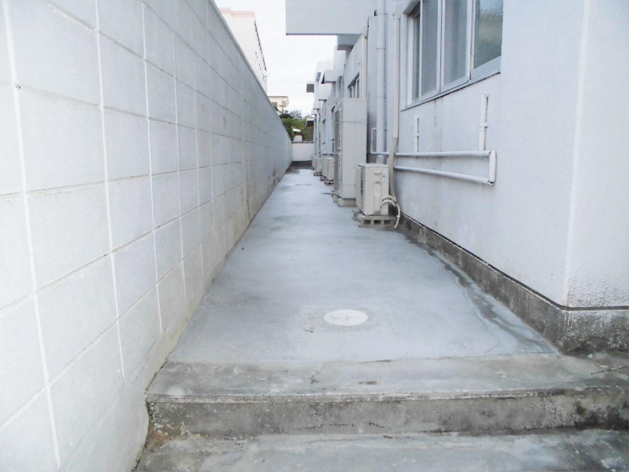 沖縄 リフォーム リノベーション 土間コンクリート工事(病院)