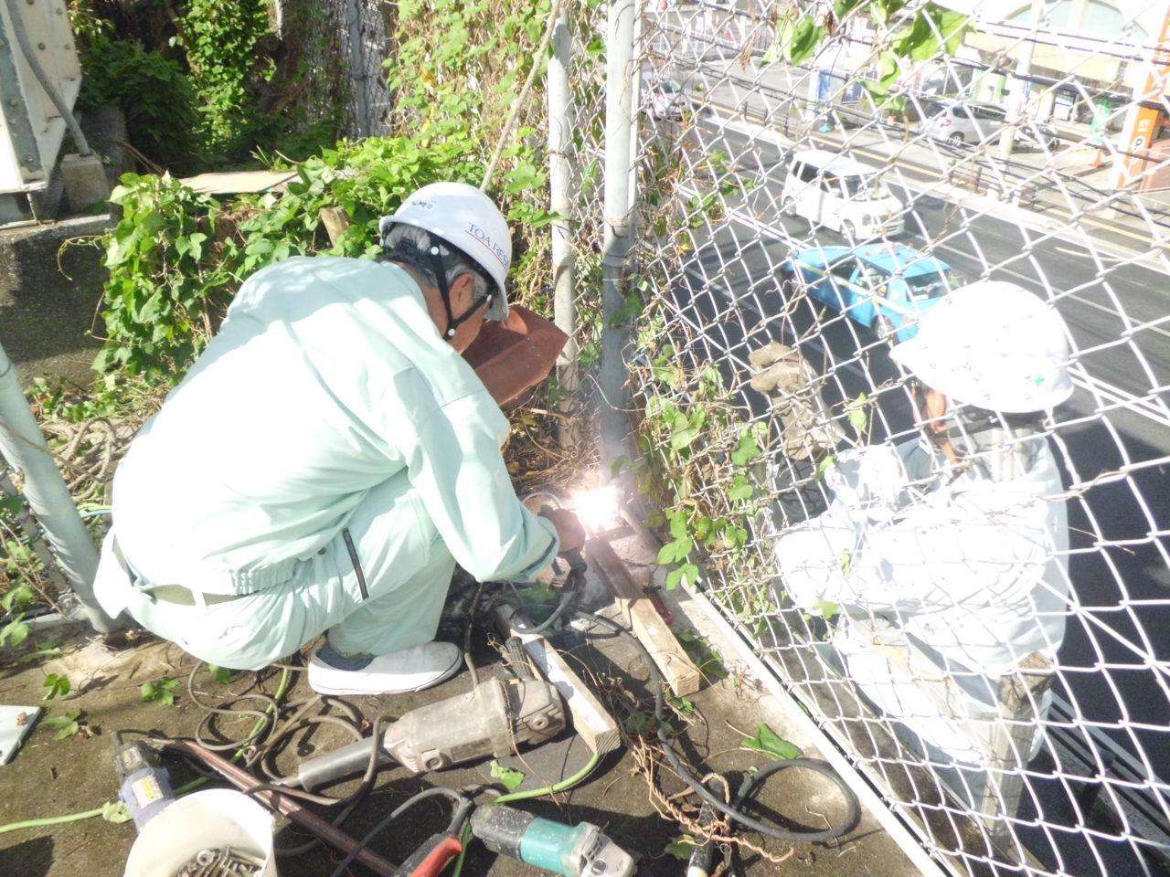 沖縄 リフォーム フェンス 修繕