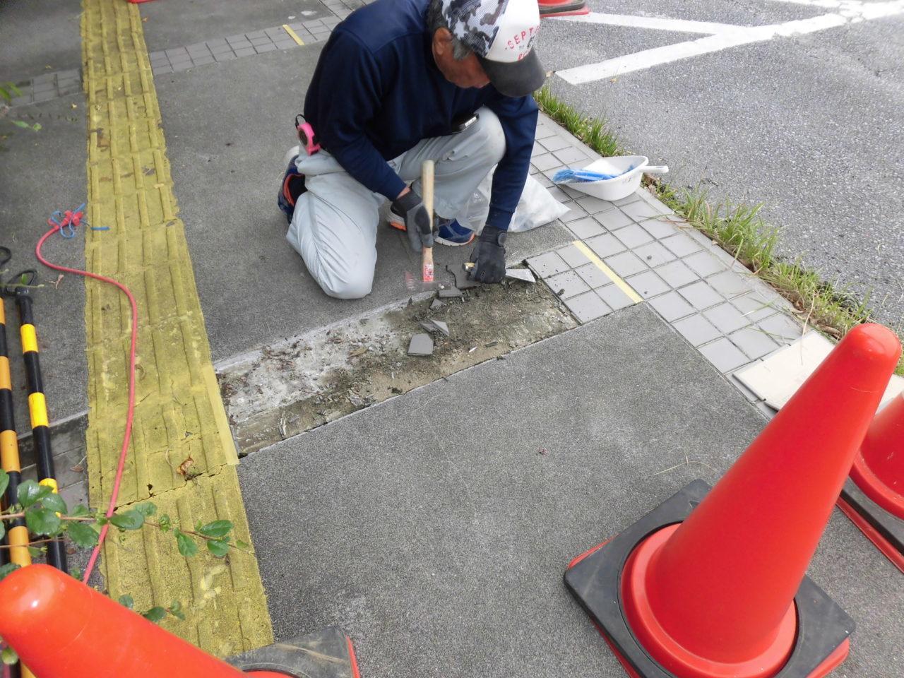 沖縄 リフォーム タイル 修繕