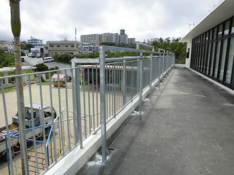 沖縄 リフォーム 日除け スタンド