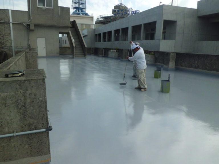 沖縄 リフォーム ベランダ 防水塗装