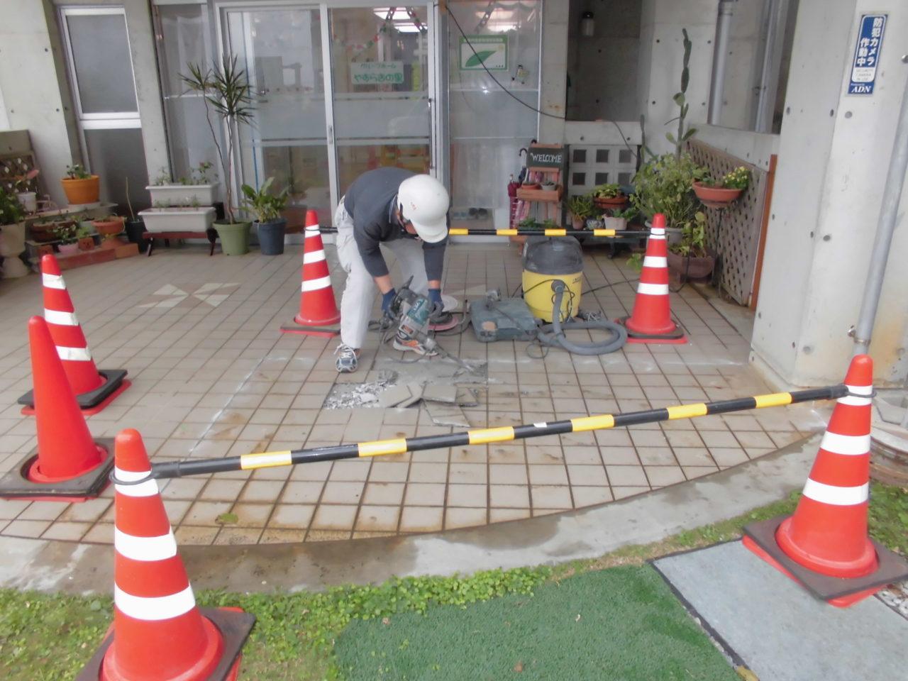 沖縄 リフォーム 玄関 ポーチ