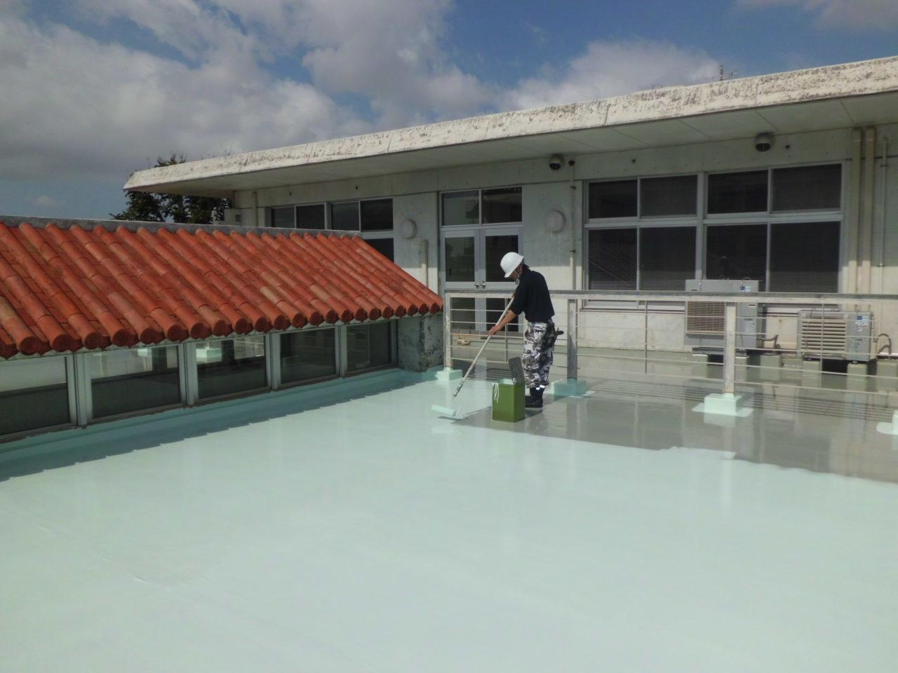 沖縄 リフォーム 防水塗装
