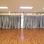 カーテン設置&便座の取り替えリフォーム(集会所)
