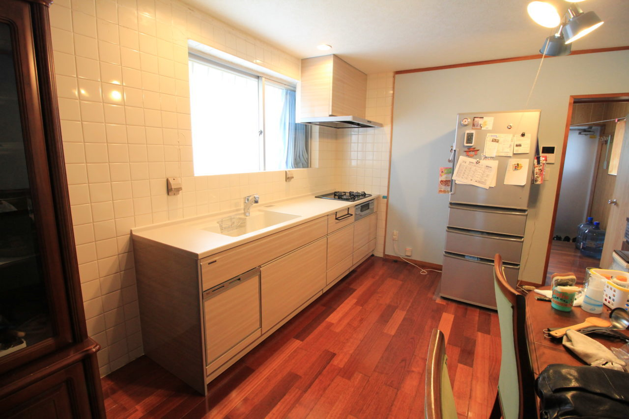沖縄 リフォーム リノベーション キッチン取り替え&洋室改修リフォーム