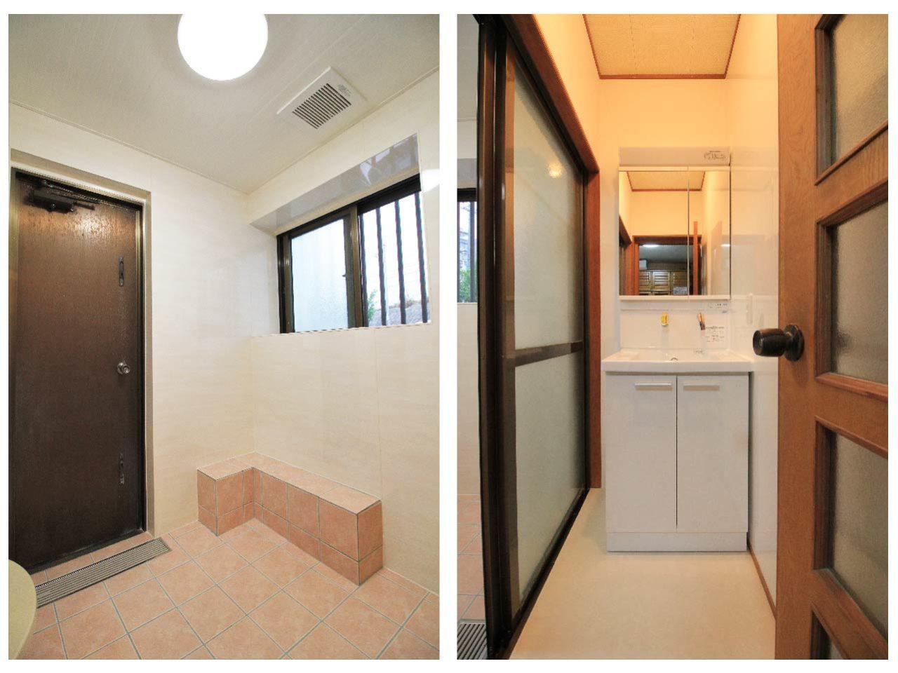 沖縄 リフォーム リノベーション 浴室 脱衣所
