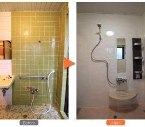 浴室と脱衣所のリフォーム