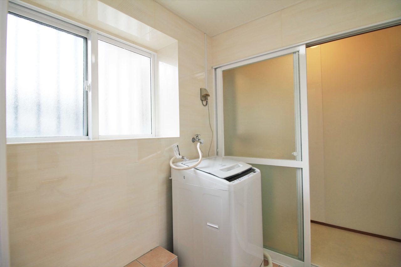 沖縄 リフォーム リノベーション 浴室 サッシ 塗装