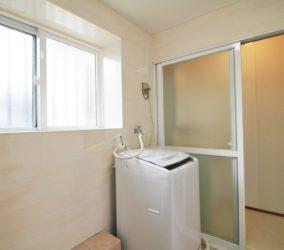 浴室アルミサッシの塗装リフォーム
