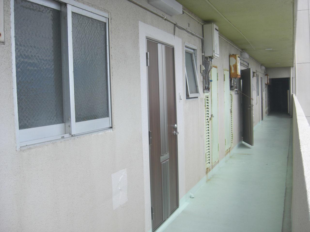沖縄 リフォーム マンション 玄関