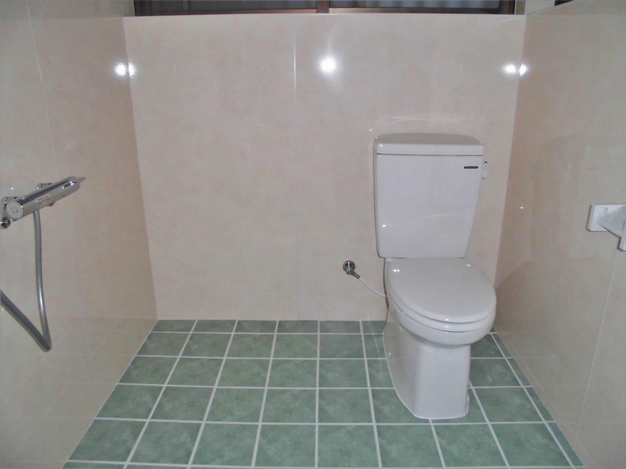 沖縄 リフォーム 浴室 トイレ 和式便器