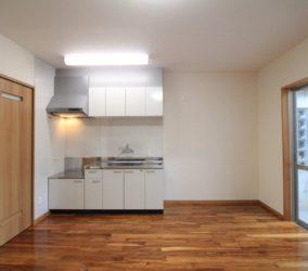 After 和室にキッチンを新設