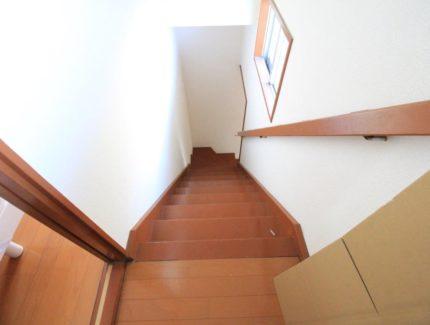 Before 階段 塗装 クロス