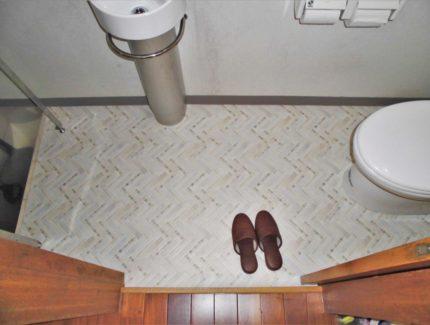 床シート After