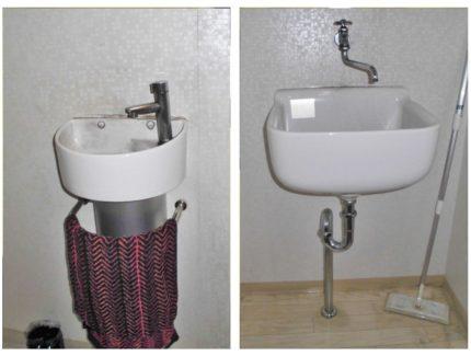 Before シンク 手洗い器