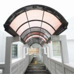 公共施設 テラス屋根の修繕リフォーム