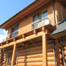 ログハウスの防水塗装・改修リフォーム
