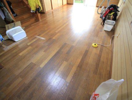 Before 床の張替え