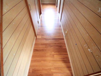 After 床の張替え