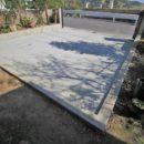 After 庭を駐車場にリフォーム