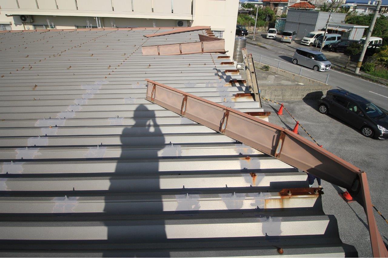 トタン屋根 壁面 補修 施設 沖縄 リフォーム