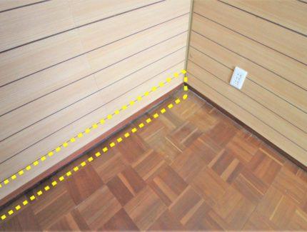 Before 床の補修