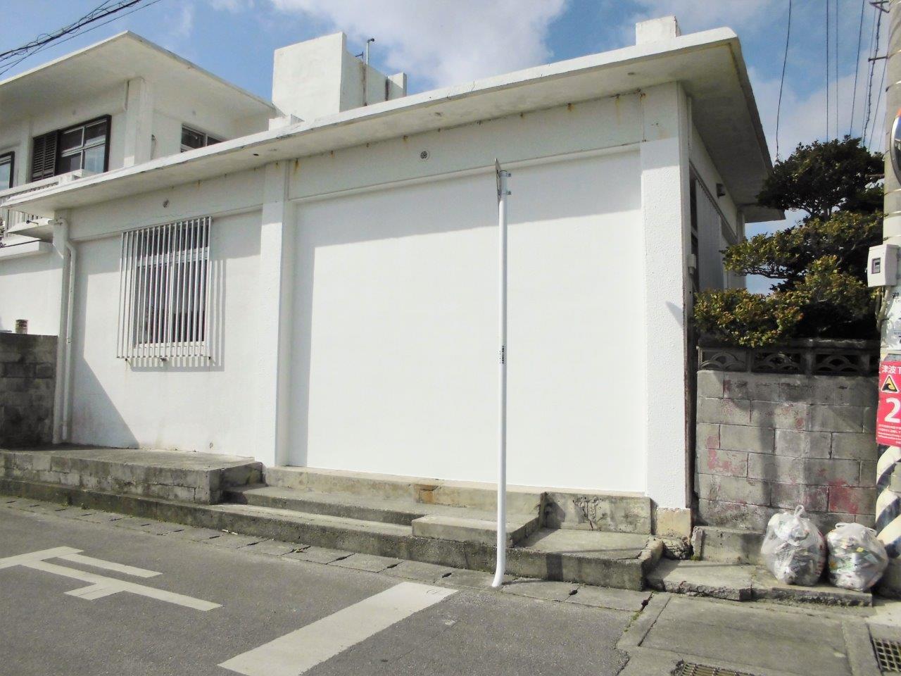 外壁 塞ぎ シャッター 沖縄 リフォーム
